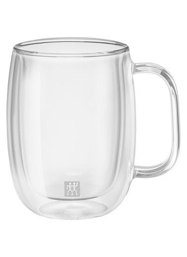 Zwilling Sorrento Çift Camlı Kulplu 2'li Kahve Bardağı Seti - 355 ml Renkli